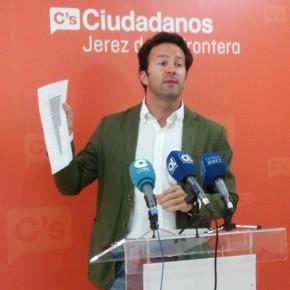 Ciudadanos Jerez denuncia la falta de un técnico jurídico en el departamento de disciplina urbanística