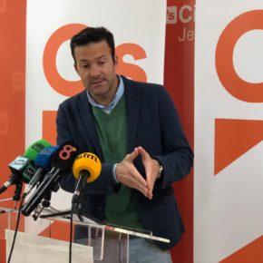 """Pérez (Cs): """"Ya es hora de que el señor Camas asuma las responsabilidades que le competen de su delegación"""""""