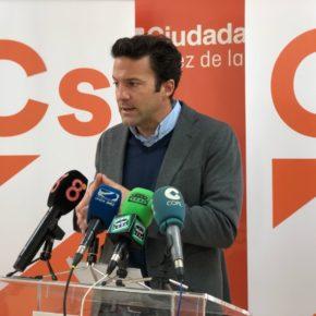 """Pérez (Cs): """"Ya advertimos al PSOE que la subida del IAE produciría efectos negativos en Jerez, hoy la fuga de empresas  es una de sus consecuencias"""""""