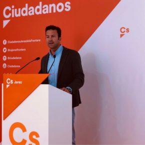 """Pérez (Cs): """"No se puede velar por la seguridad de los jerezanos si contamos sólo con 3 motocicletas para todo el término municipal"""""""