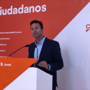 Ciudadanos Jerez advierte a Mamen Sánchez que le quedan 6 meses para que cumpla sus promesas
