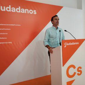 """Méndez (Cs): """"La bajada del paro en Jerez es señal de la buena gestión que Ciudadanos está llevando a cabo en la Junta"""""""