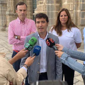 """García (Cs): """"La revitalización del Centro Histórico no es capricho de los jerezanos, es una necesidad"""""""