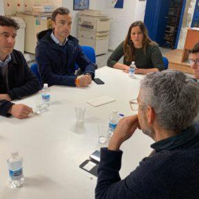 Ciudadanos Jerez se reúne con la AAVV del Centro Histórico