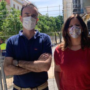 Ciudadanos Jerez considera inaceptable la intervención sin previo aviso al comercio sobre el acerado de Corredera