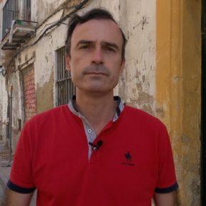"""Méndez: """"La calle Campana lleva siendo cuatro años un claro ejemplo de cómo trata Mamen Sánchez el patrimonio de Jerez"""""""