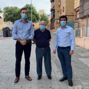 Ciudadanos Jerez lamenta la dejadez del gobierno de Mamen Sánchez en la zona de San Telmo
