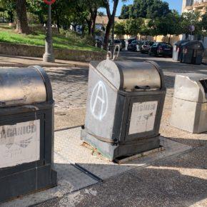 Ciudadanos Jerez se posiciona en contra de la eliminación de los contenedores soterrados en el centro de la ciudad