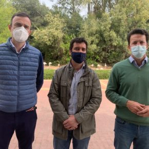 """García: """"Desde Cs Jerez vamos a trabajar para que nuestro zoobotánico vuelva a ser un referente turístico, de ocio y de educación ambiental"""""""