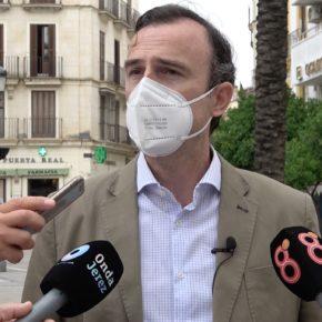 """Méndez: """"Si Jerez quiere ser capital de algo, tiene que dotarse de medidas de seguridad acorde a la quinta ciudad de Andalucía que es"""""""