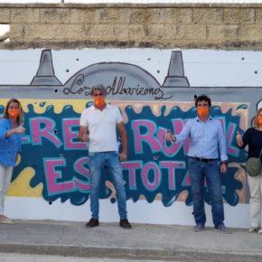 Ciudadanos Jerez presenta a Mauricio Marín como delegado de alcaldía en 'Los Albarizones'